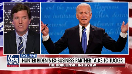Biden Family Scandal – Tony Bobulinski interview with Tucker Carlson
