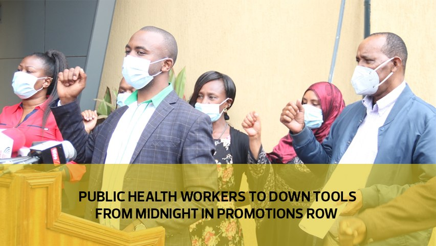 Public health workers to down tools from midnight in promotions row