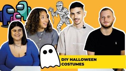 DIY Halloween Costumes ( Omaya, Rund, Adam & Youssef )
