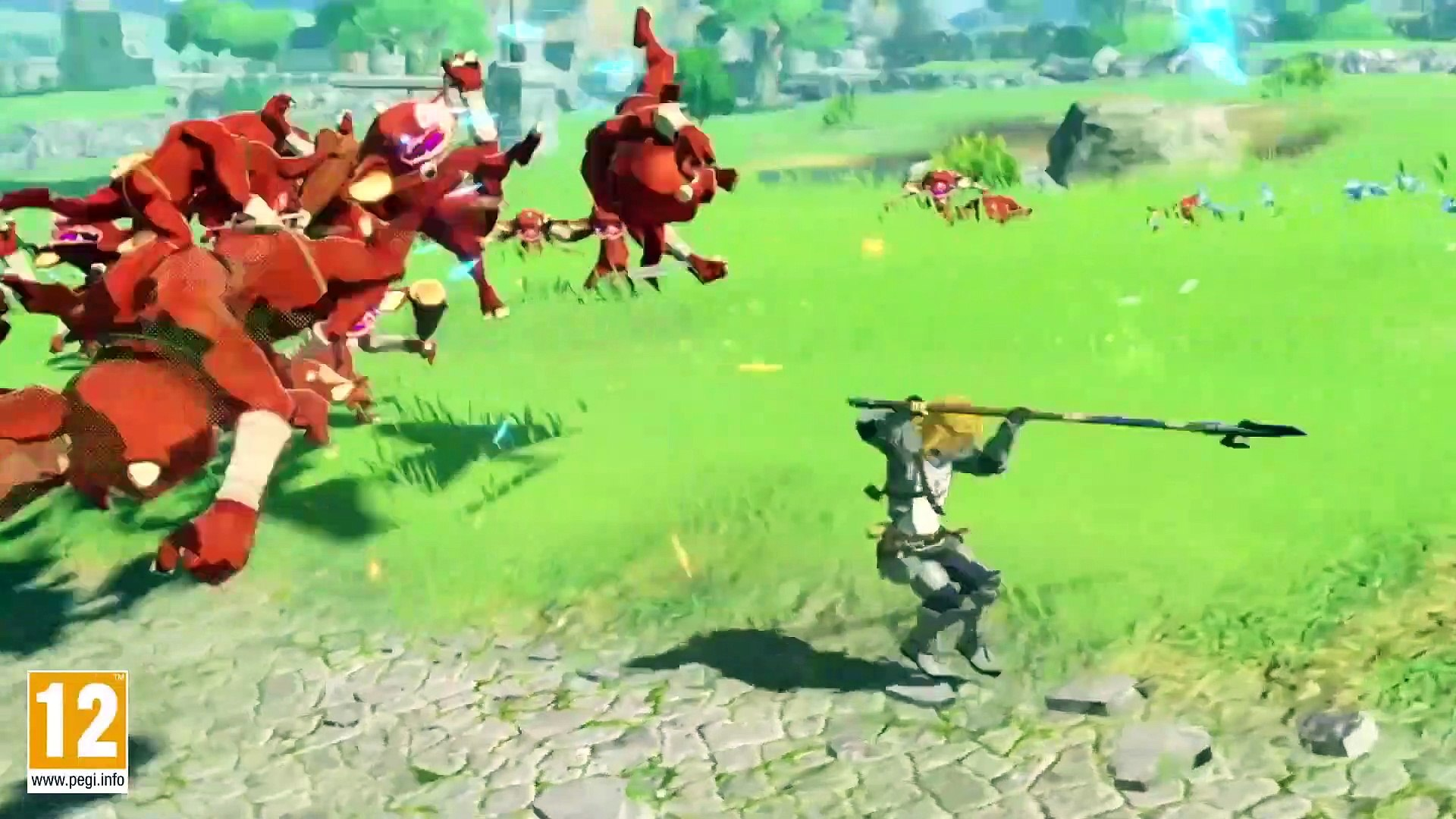 Hyrule Warriors Age Of Calamity Free Demo Release Trailer Video Dailymotion