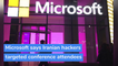 Microsoft says Iranian hackers targeted conference attendees, and other top stories in technology from October 29, 2020.