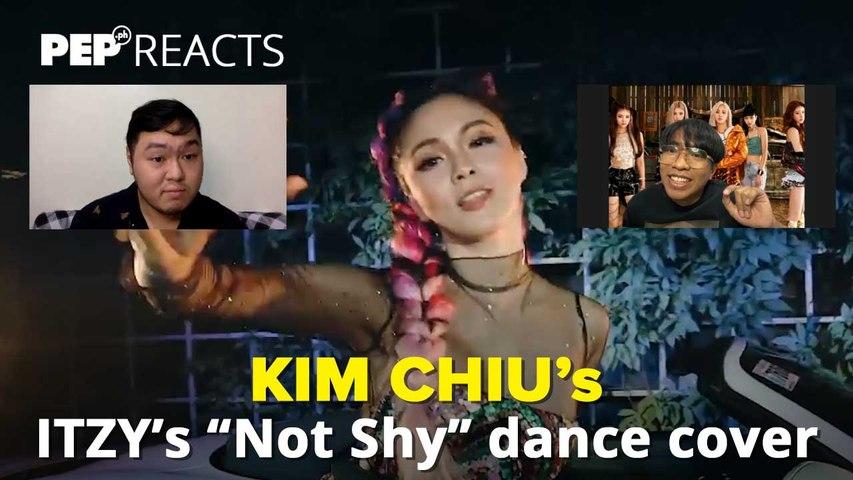 """PEP Reacts to Kim Chiu's """"Not Shy"""" dance cover"""