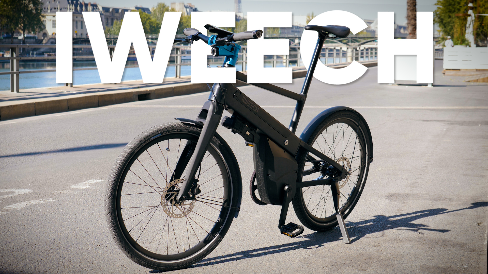 Test du vélo Iweech : une excellente surprise !