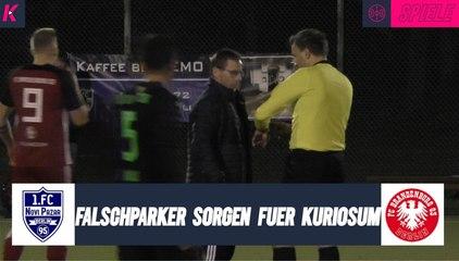 Kurioseste Spielunterbrechung des Jahres: Parkplatz-Wirrwarr in der Berlin-Liga | Novi Pazar - Brandenburg 03