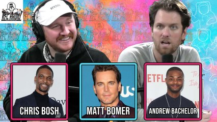 "KFC Radio: Chris Bosh, Matt Bomer, Andrew ""King Bach"" Bachelor, and Livin in Simp City"