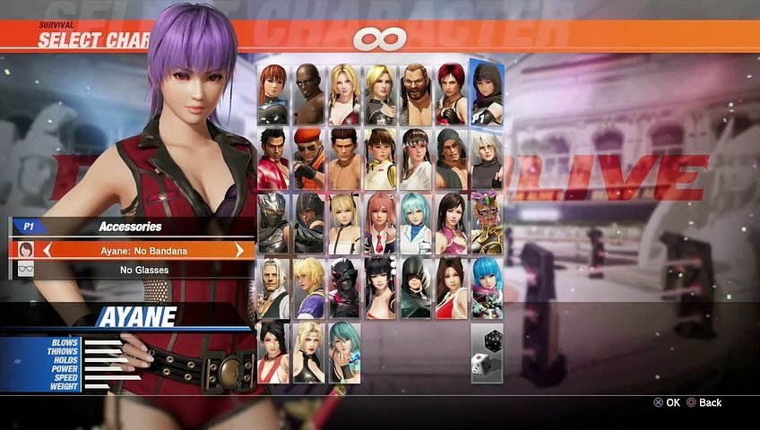 DEAD OR ALIVE 6 - PART 125 AYANE SURVIVAL [ROOKIE EASY NORMAL]