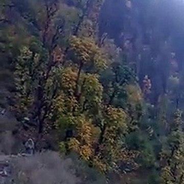 autumn season in sharda neelum valley