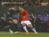 Ronaldo petit pont et roulette vs Lyon