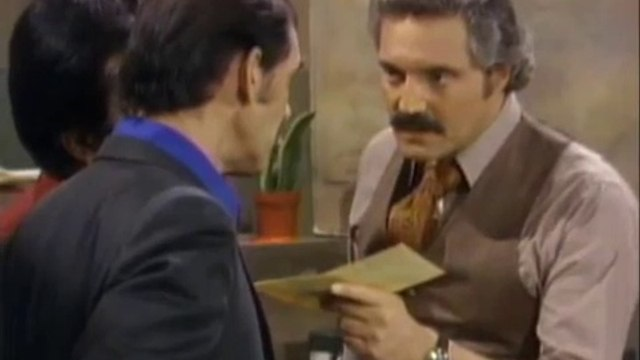 Barney Miller  S1/E11 - Escape Artist  Hal Linden ~ Max Gail ~ Gregory Sierra ~ Ron Glass ~ Roscoe Lee Browne