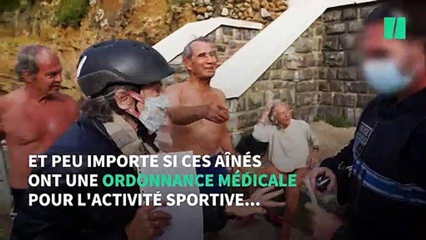 À Biarritz, des aînés interdits de baignade malgré un avis médical