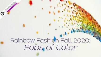 Fall Fashion 2020: Wear the Rainbow