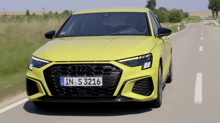 The new Audi S3 Sportback Driving Video
