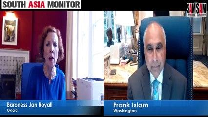 Frank Islam in conversation with Baroness Jan Royall | Washington Calling