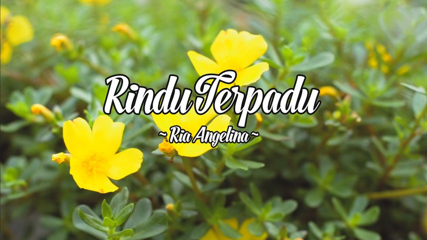 Ria Angelina - Rindu Terpadu (Official Lyric Video)