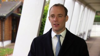 Raab: A national lockdown 'should be held in reserve'