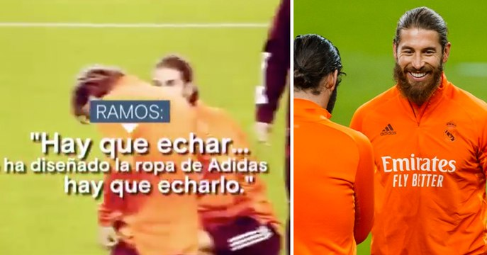 Sergio Ramos critique la tenue d'entraînement du Real devant ses coéquipiers