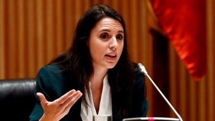 Irene Montero despide a Teresa Rodríguez durante su baja de maternidad
