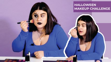 DIY Halloween Make up ( Omaya )