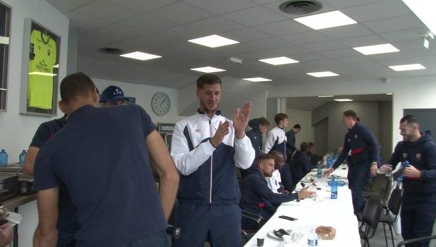Les coulisses du départ à Paris pour la 9ème journée de Ligue 2 BKT (Paris FC - SMCaen)