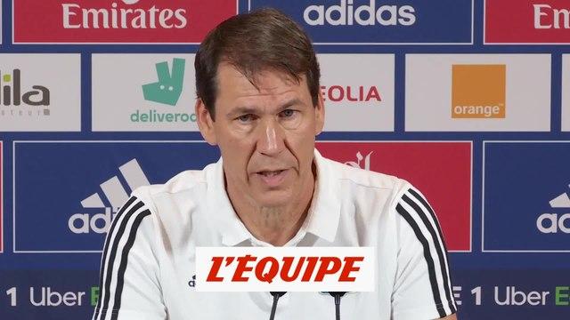 Garcia : «La période est compliquée, difficile, triste» - Foot - L1 - OL