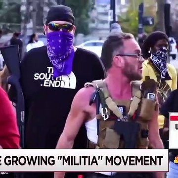 Armed U.S. 'Militia' Groups Increase Their Visibility _ Morning Joe _ MSNBC