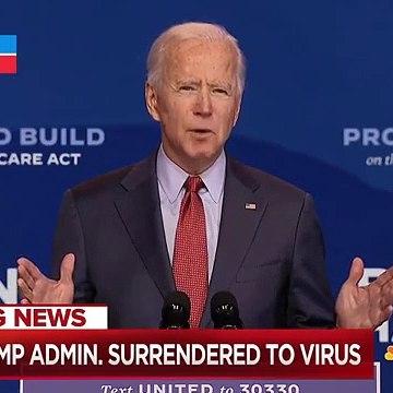 Biden Slams Trump For Holding Rallies Amid Pandemic _ MSNBC