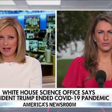 Alyssa Farah clarifies White House claim that Trump ended pandemic