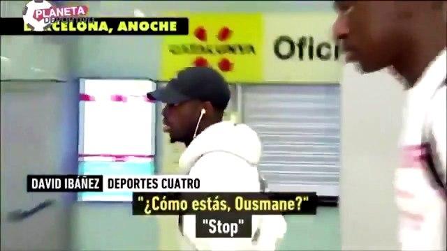 """Ousmane Dembélé en roue libre avec les journalistes espagnols :  """"Ils cassent les cou*lles ces journalistes espagnols"""""""