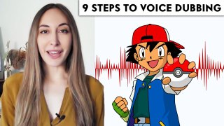 Voice Actor (Ash from Pokémon) Breaks Down Voice Dubbing in 9 Steps