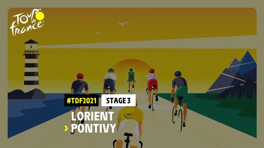 #TDF2021 - Découvrez l'étape 3 / Discover stage 3