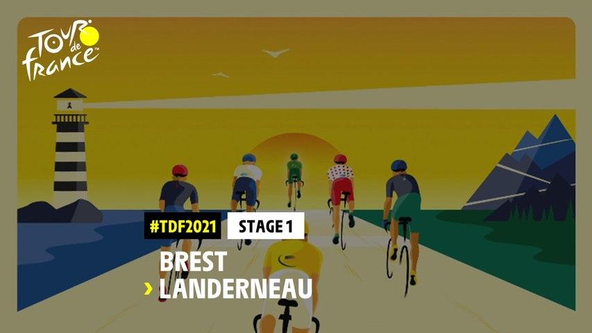 #TDF2021 - Découvrez l'étape 1 / Discover stage 1