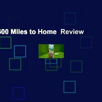 Thirst: 2600 Miles to Home  Review