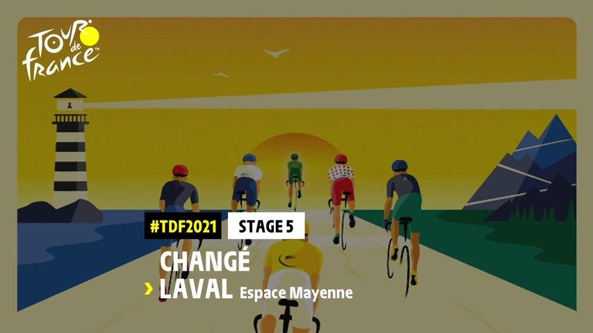 #TDF2021 - Découvrez l'étape 5 / Discover stage 5
