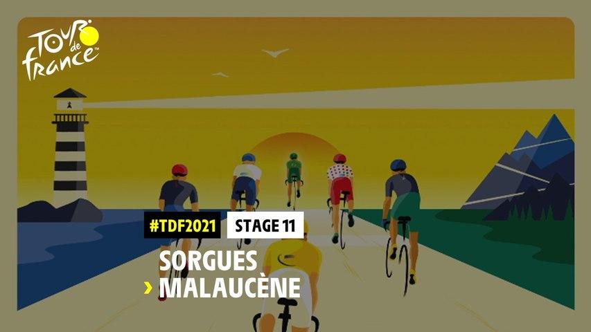 #TDF2021 - Découvrez l'étape 11 / Discover stage 11