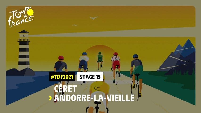 #TDF2021 - Découvrez l'étape 15 / Discover stage 15