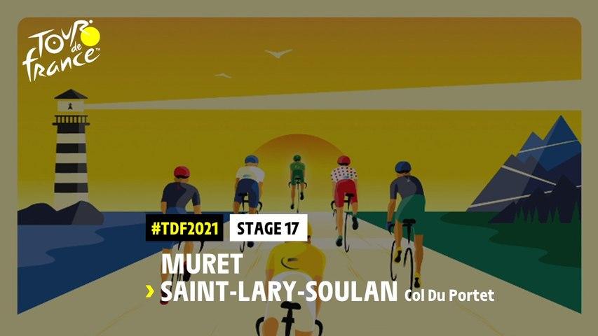 #TDF2021 - Découvrez l'étape 17 / Discover stage 17