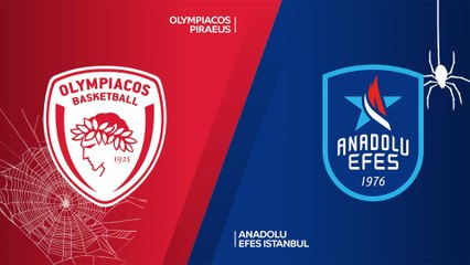 EuroLeague 2020-21 Highlights Regular Season Round 6 video: Olympiacos 79-84 Efes