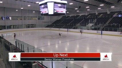 Senior Women Free Program - 2021 Skate Canada: Alberta-NWT/Nunavut Sectional Championships