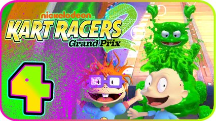 Nickelodeon Kart Racers 2 Part 4 (PS4, XB1, Switch) Angelica (Rugrats) - Conglom-O Cup