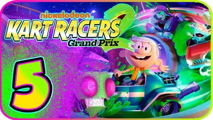 Nickelodeon Kart Racers 2 Part 5 (PS4, XB1, Switch) Invader Zim - Neptune-O Cup