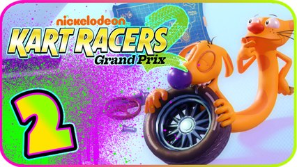Nickelodeon Kart Racers 2 Part 2 (PS4, XB1, Switch) Catdog - Football Cup
