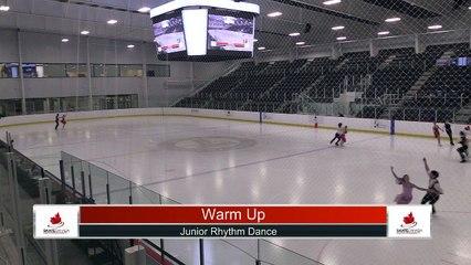 Junior Dance Rhythm Dance - 2021 Skate Canada: Alberta-NWT/Nunavut Sectional Championships