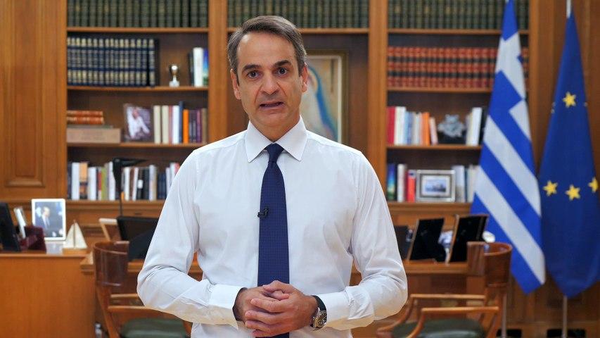 Κορωνοϊός: Το διάγγελμα του Κυριάκου Μητσοτάκη για τα νέα μέτρα
