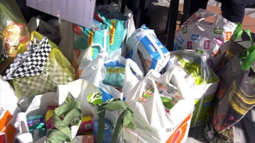 Λαμία: Συγκέντρωση τροφίμων και ειδών πρώτης ανάγκης από  τον Ερυθρό Σταυρό για τους πληγέντες του  «Ιανού» και του σεισμού στη Σάμο