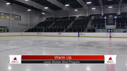 Junior Women Short Program - 2021 Skate Canada: Alberta-NWT/Nunavut Sectional Championships (Part Two)
