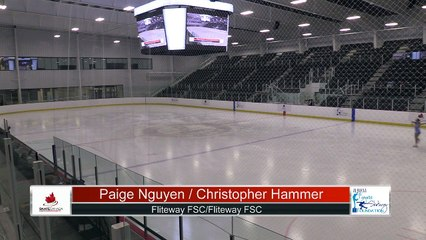 Novice Pair Freesksate - 2021 Skate Canada: Alberta-NWT/Nunavut Sectional Championships