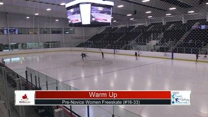 Pre-Novice Women Free Program Part 2 - 2021 Skate Canada: Alberta-NWT/Nunavut Sectional Championships