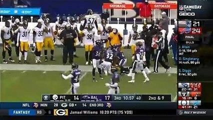 [NFL Highlights] Steelers vs Ravens Week 8 Seasons 2020