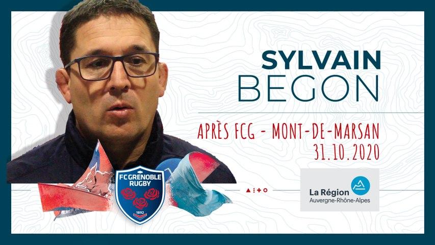 Rugby : Video - Sylvain Begon : « Il faut qu?on gagne en maîtrise et en précision »