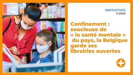 Confinement : soucieuse de « la santé mentale » du pays, la Belgique garde ses librairies ouvertes
